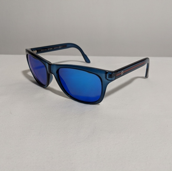 3cca2650a55 Gucci Other - Gucci GG3709 s blue mirror sunglasses